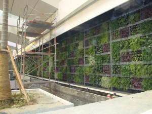groene gevel panelen