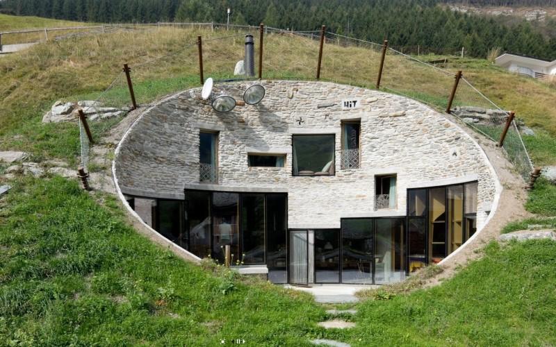 Villa Vals natuurlijk in de bergen